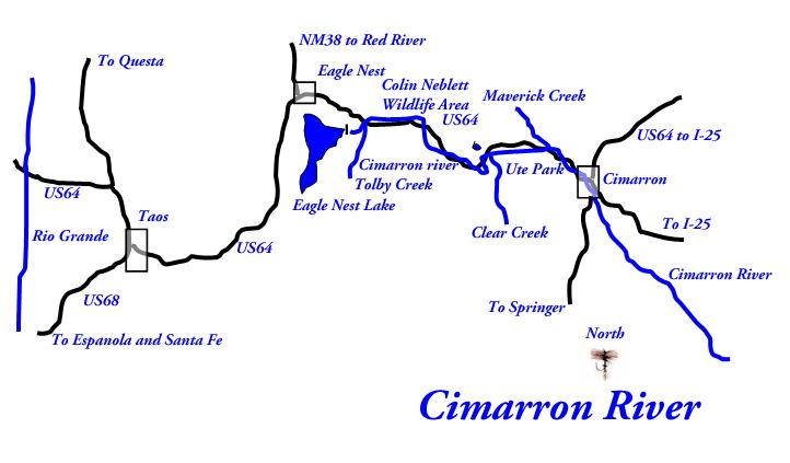 Cimarron River   New Mexico Trout