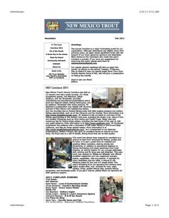 Newsletter - February 2011