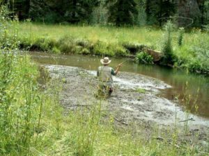 Fishing on Cow Creek