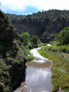 Large Scale Gila Diversion Abandoned